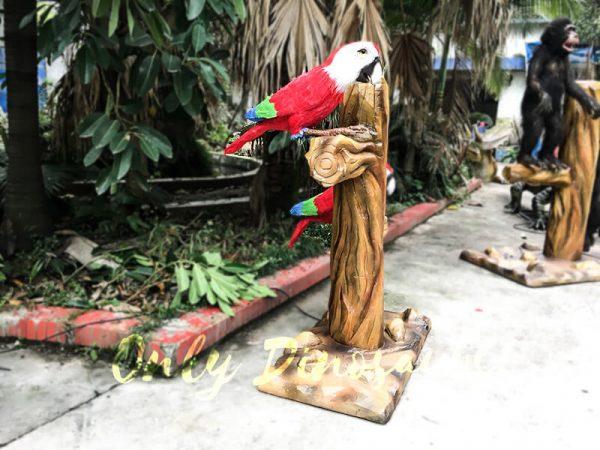 Likelike Animatronic Parrot Model Robotic Macaw for Garden5 1