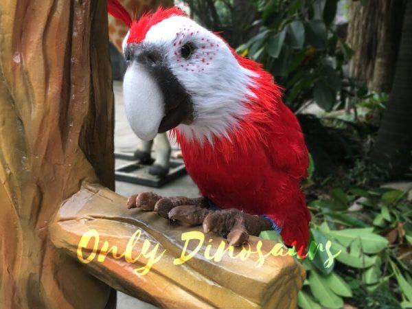 Likelike-Animatronic-Parrot-Model-Robotic-Macaw-for-Garden6