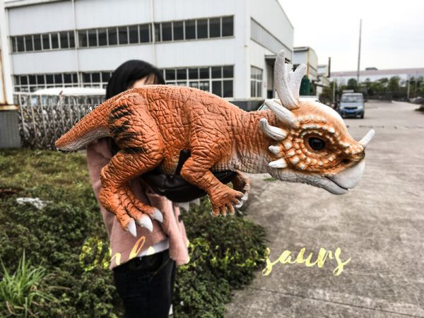 Lovely Baby Stygimoloch Puppet For Educational Purposes1 1