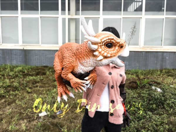 Lovely Baby Stygimoloch Puppet For Educational Purposes2 1