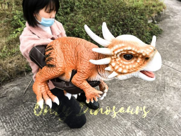 Lovely Baby Stygimoloch Puppet For Educational Purposes6 1