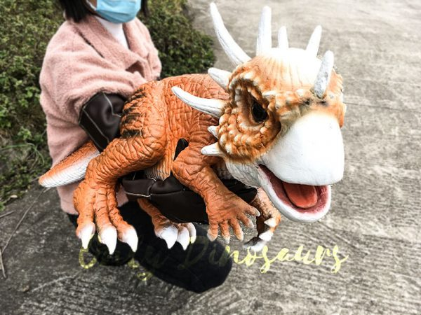 Lovely Baby Stygimoloch Puppet For Educational Purposes7 1