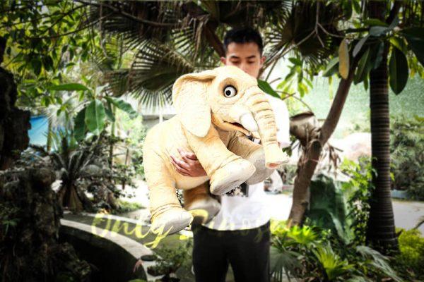 Lovely Elephant Hand Puppet for Kids1 1