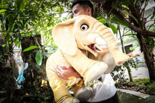 Lovely Elephant Hand Puppet for Kids2 1