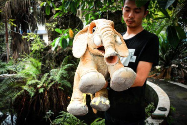Lovely Elephant Hand Puppet for Kids3 1