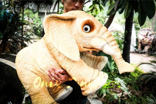 Lovely Elephant Hand Puppet for Kids5 1