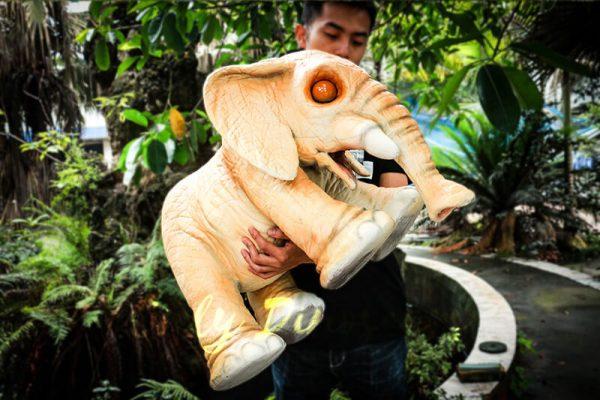 Lovely Elephant Hand Puppet for Kids6 1