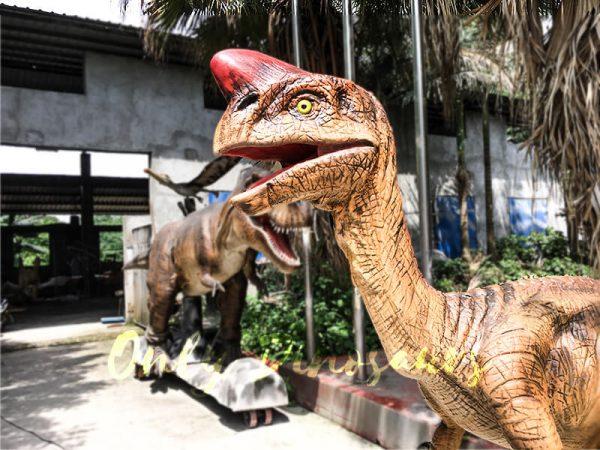 Museum Dinosaur Figure Animatronic Oviraptor2 1