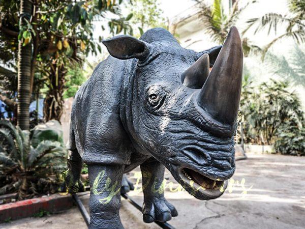 Museum Quality Realistic Animal Animatronics Rhinoceros3 1