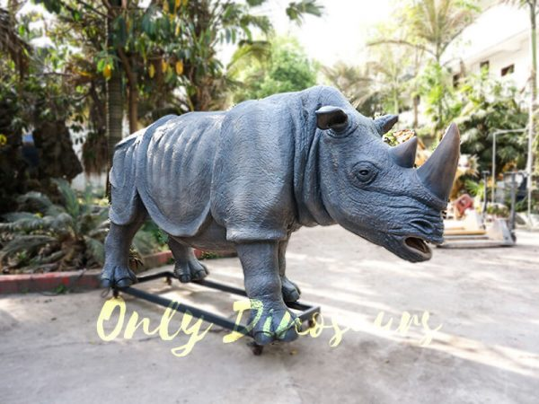 Museum Quality Realistic Animal Animatronics Rhinoceros4 1