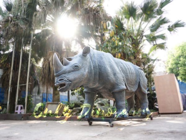 Museum Quality Realistic Animal Animatronics Rhinoceros5 1