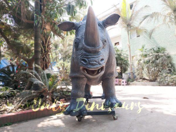 Museum Quality Realistic Animal Animatronics Rhinoceros6 1