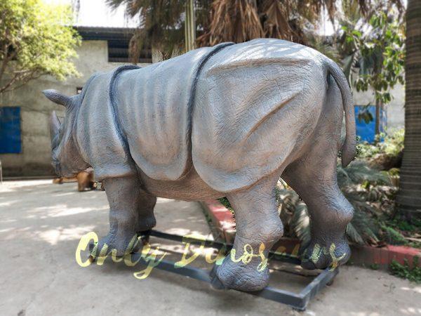 Museum Quality Realistic Animal Animatronics Rhinoceros7 1