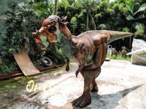 Pachycephalosaur Jurassic Park Walking Dinosaur Costume