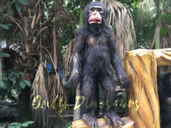 Park-Attraction-Black-Animatronic-Monkey-with-stump5