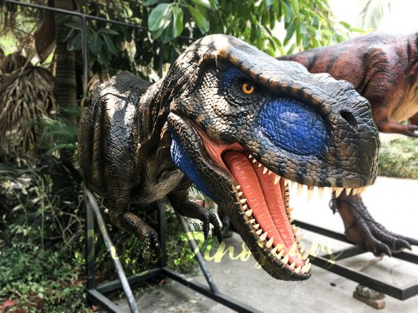 Realistic Animatronic T Rex Head for Building Decoration1