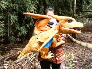 Realistic Baby Charizard Puppet for Show