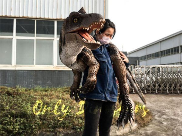 Realistic Baryonyx Shoulder Puppet For Education5 1