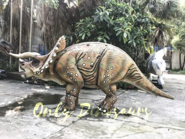 Realistic Dinosaur Triceratops Costume for Two Person Performance5 1