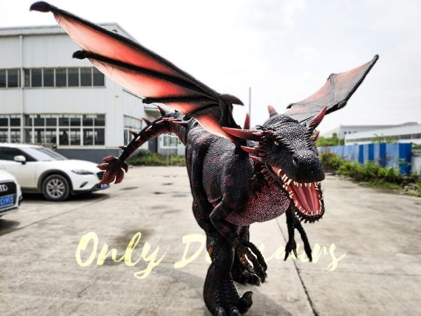 Realistic Halloween Dragon Costume for Adults1