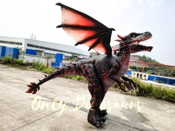 Realistic Halloween Dragon Costume for Adults2