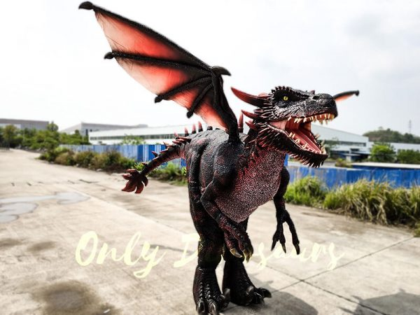 Realistic Halloween Dragon Costume for Adults3