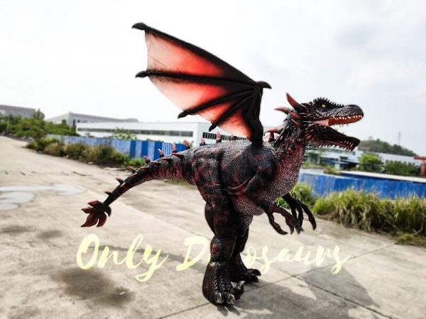 Realistic Halloween Dragon Costume for Adults5