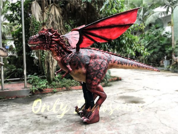 Realistic Red Dragon Costume for Entertainment3 1
