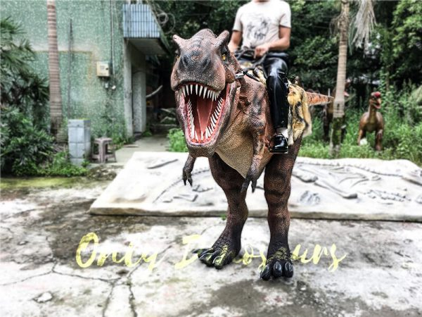 Realistic Ride On Dinosaur Costume on Stilts for Adults2 1