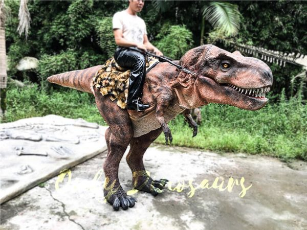 Realistic Ride On Dinosaur Costume on Stilts for Adults3 1