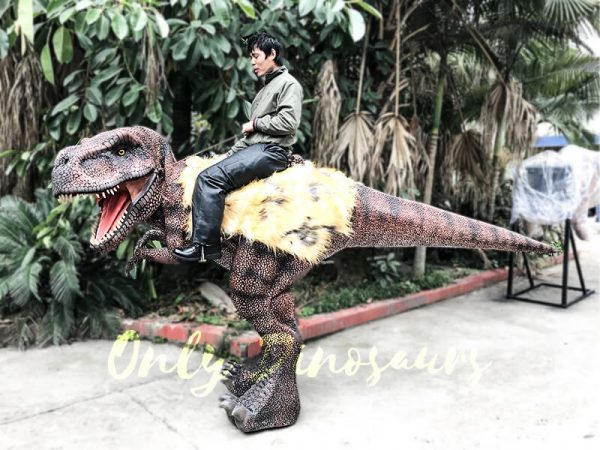 Realistic Riding T Rex Suit for Theme Park Stilt Suit1 1