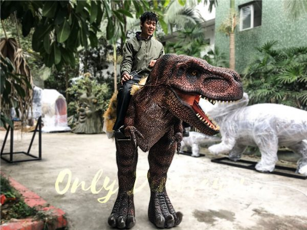 Realistic Riding T Rex Suit for Theme Park Stilt Suit2 1