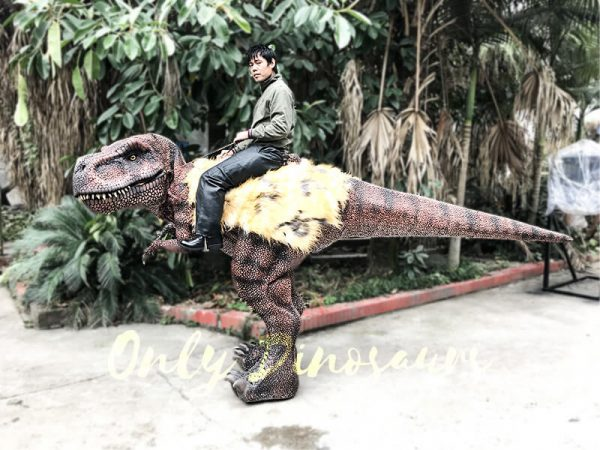 Realistic Riding T Rex Suit for Theme Park Stilt Suit3 1