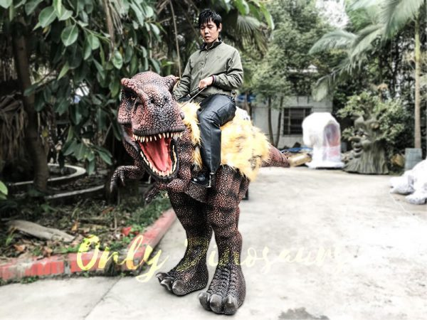 Realistic Riding T Rex Suit for Theme Park Stilt Suit4 1