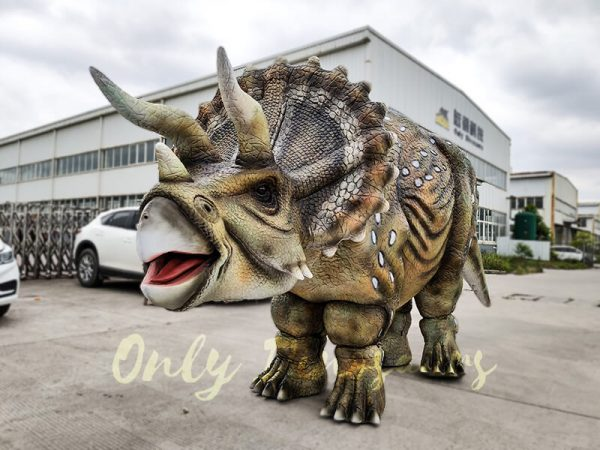 Realistic Triceratops Costume For Two Adults2 1