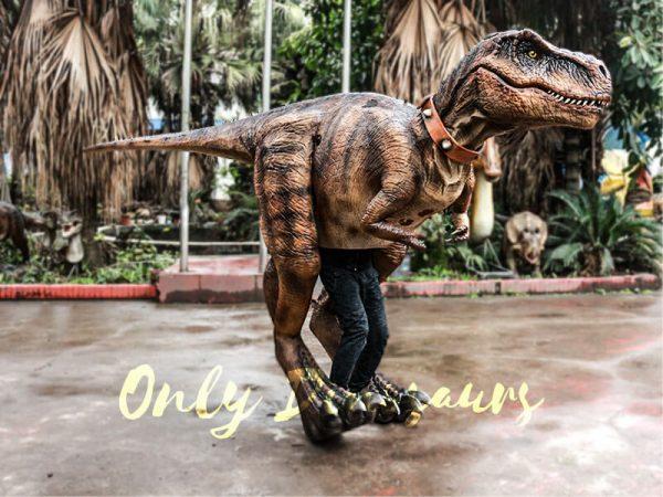 Realistic Tyrannosaurus Rex Costume Visible Legs1 1