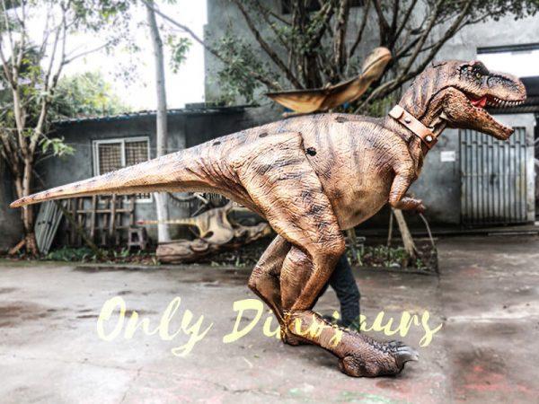 Realistic Tyrannosaurus Rex Costume Visible Legs2 1