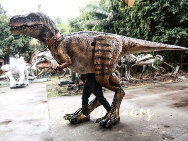 Realistic Tyrannosaurus Rex Costume Visible Legs3 1
