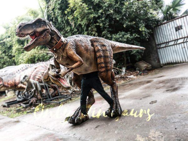 Realistic Tyrannosaurus Rex Costume Visible Legs6 1