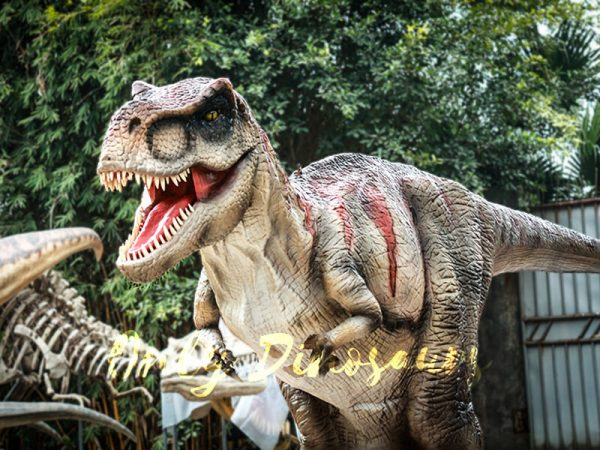 Realistic Tyrannosaurus Rex Dinosaur Costume4 1