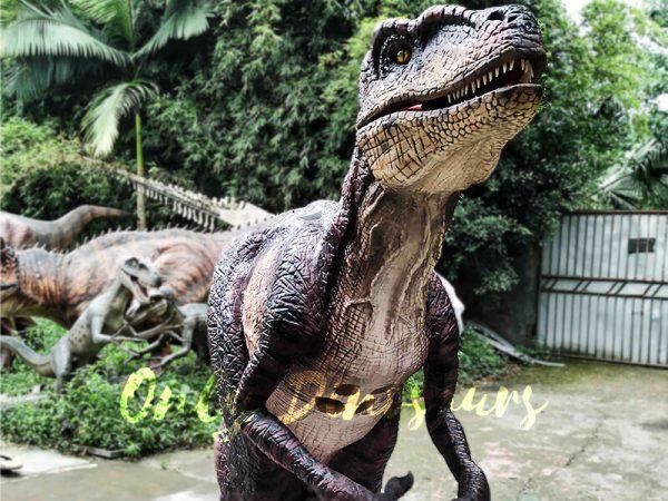 Realistic Velociraptor Suit for Prank1 1
