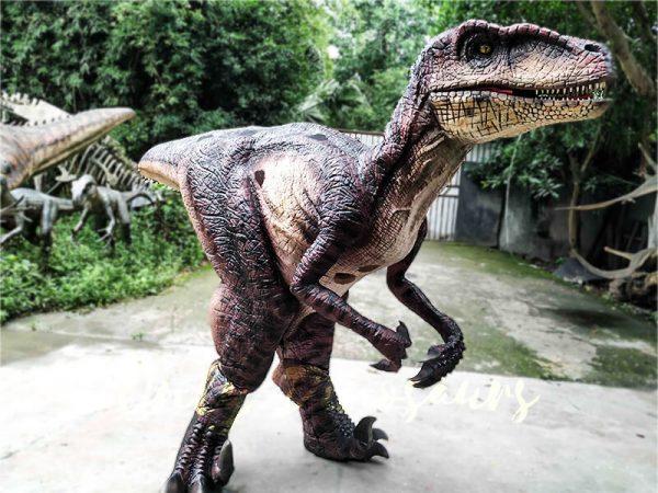 Realistic Velociraptor Suit for Prank3 1