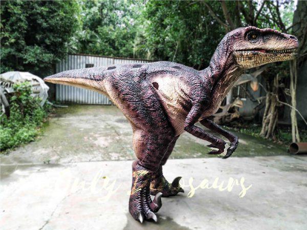Realistic Velociraptor Suit for Prank4 1