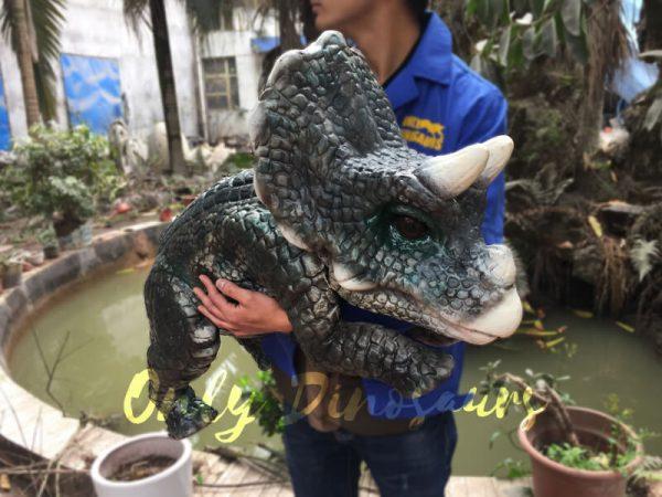 Reality-Dinosaur-Baby-Hand-Puppet-Dinosaur-World-Dark-Green2-2