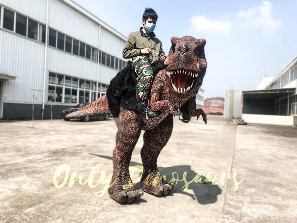 Ride On Realistic T Rex Costume4 1