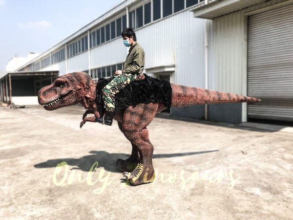 Ride On Realistic T Rex Costume5 1