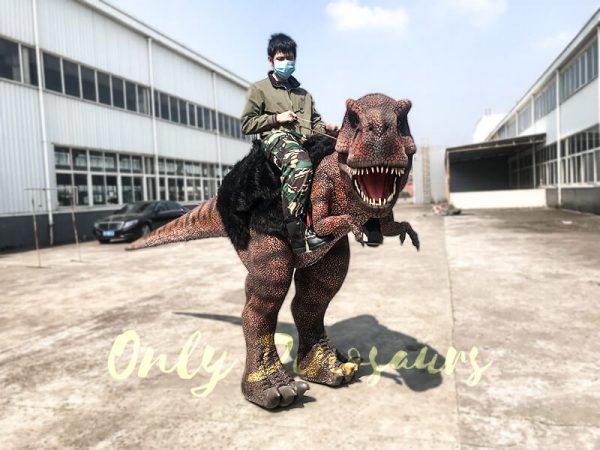 Ride On Realistic T Rex Costume7 1