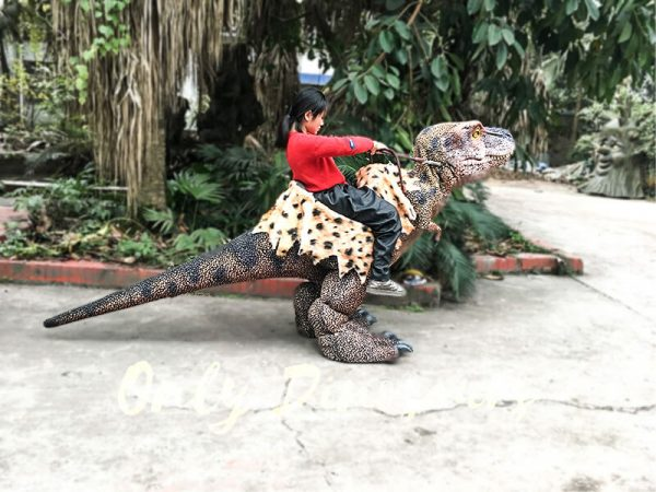 Riding Dinosaur Costume for Kids3