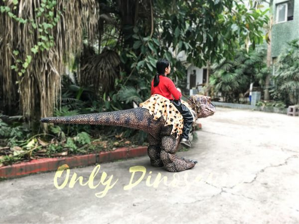 Riding Dinosaur Costume for Kids4