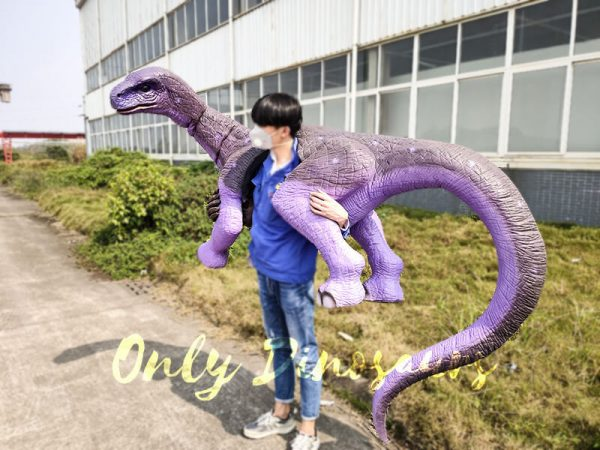 Shoulder Brontosaurus Dinosaur Puppet with Fake Arm1 1
